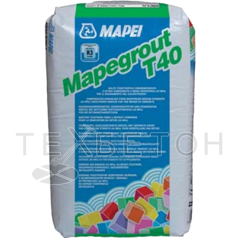 Mapei (Италия) MAPEI MAPEGROUT T-40 (фасовка: 25 кг)